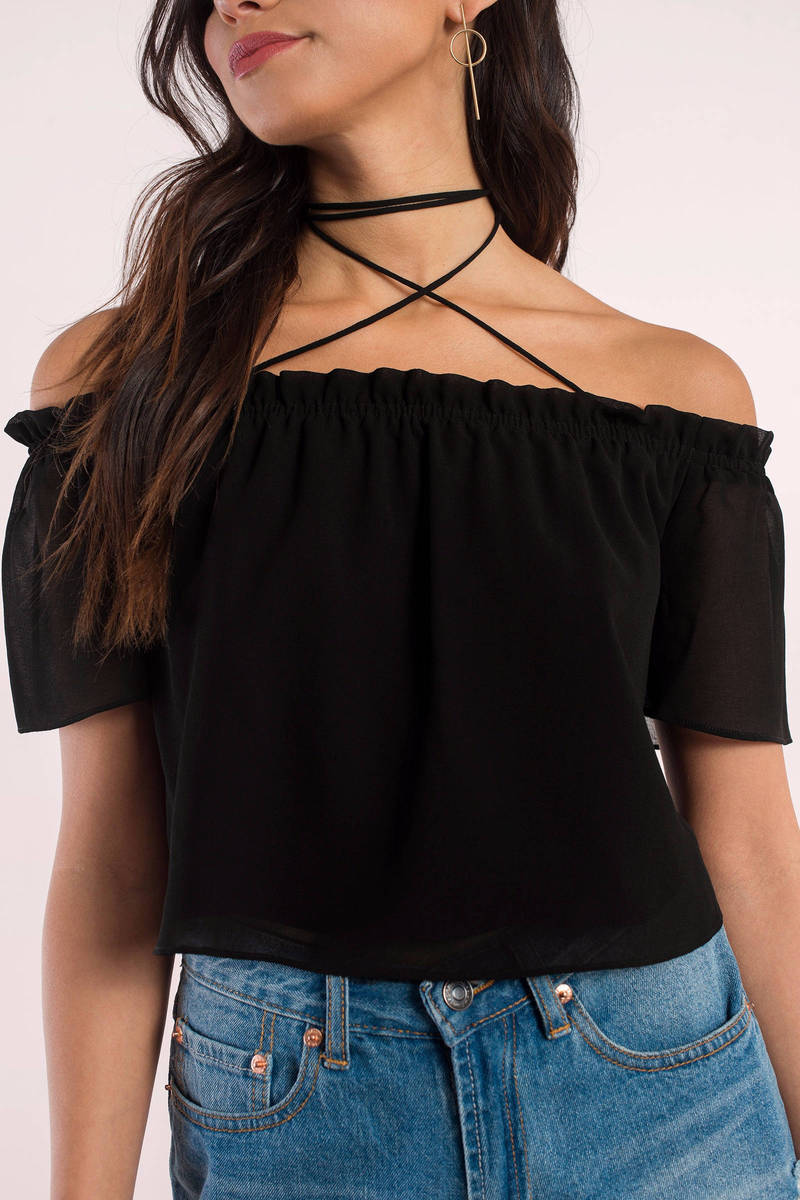 Don't Lie Rose Crop Top