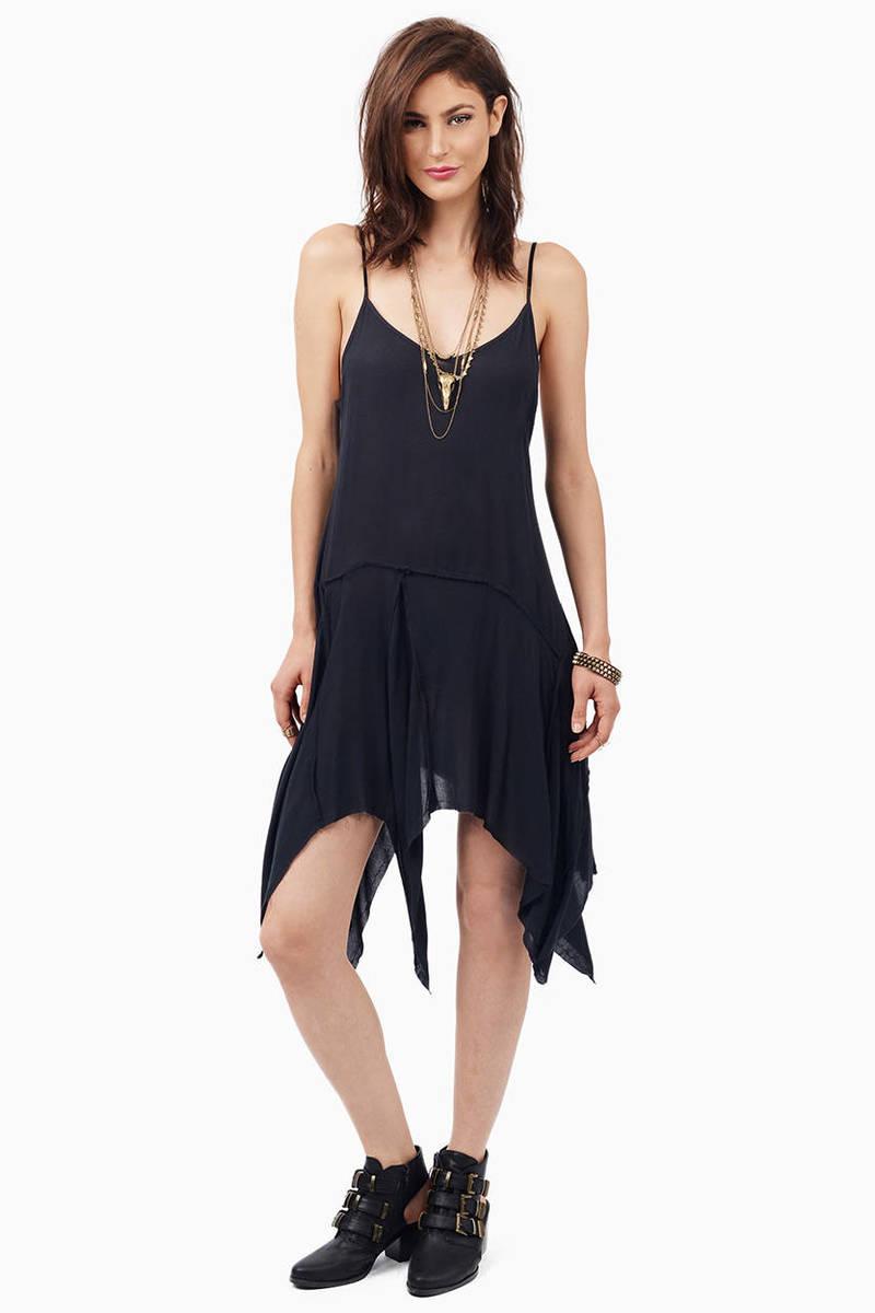 Dree Black Midi Dress