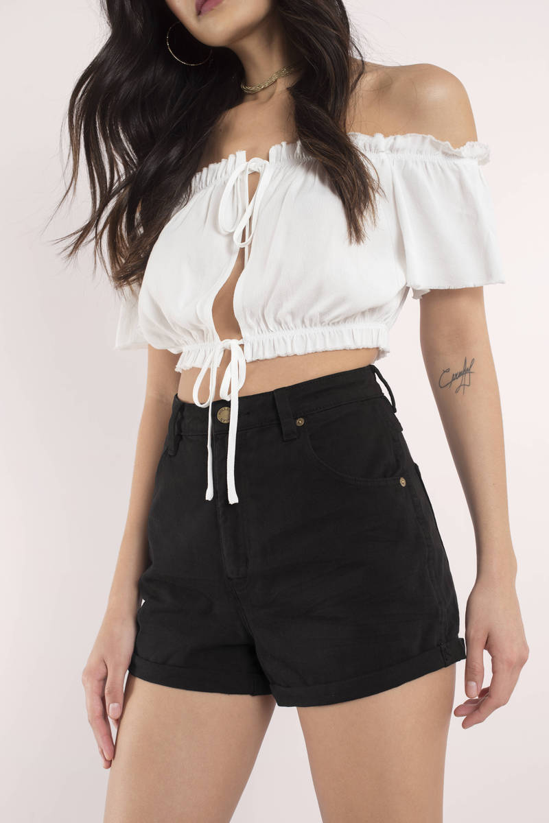 ROLLA'S Rolla's Duster Black Shorts
