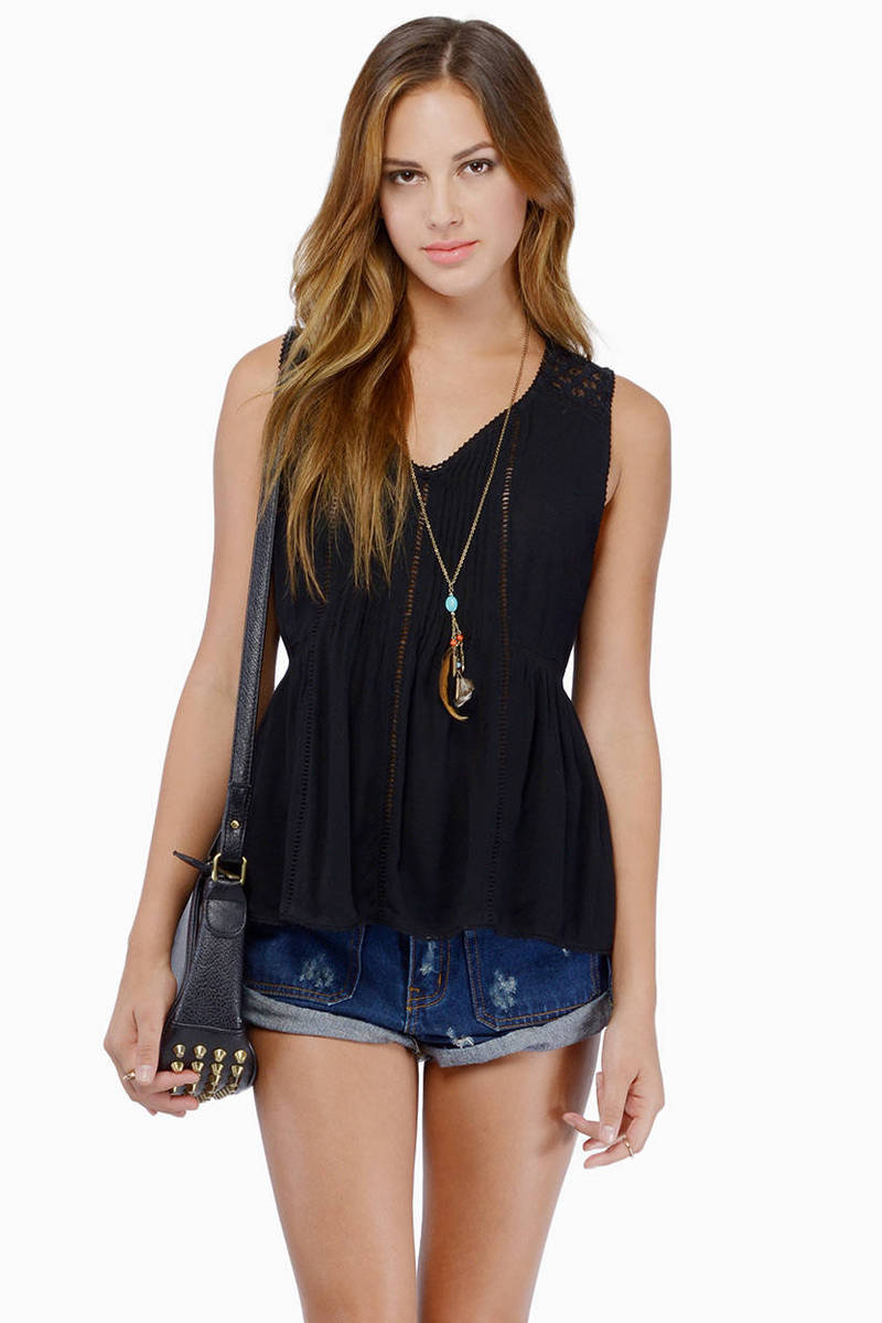 Effortlessly Boho Tank Top