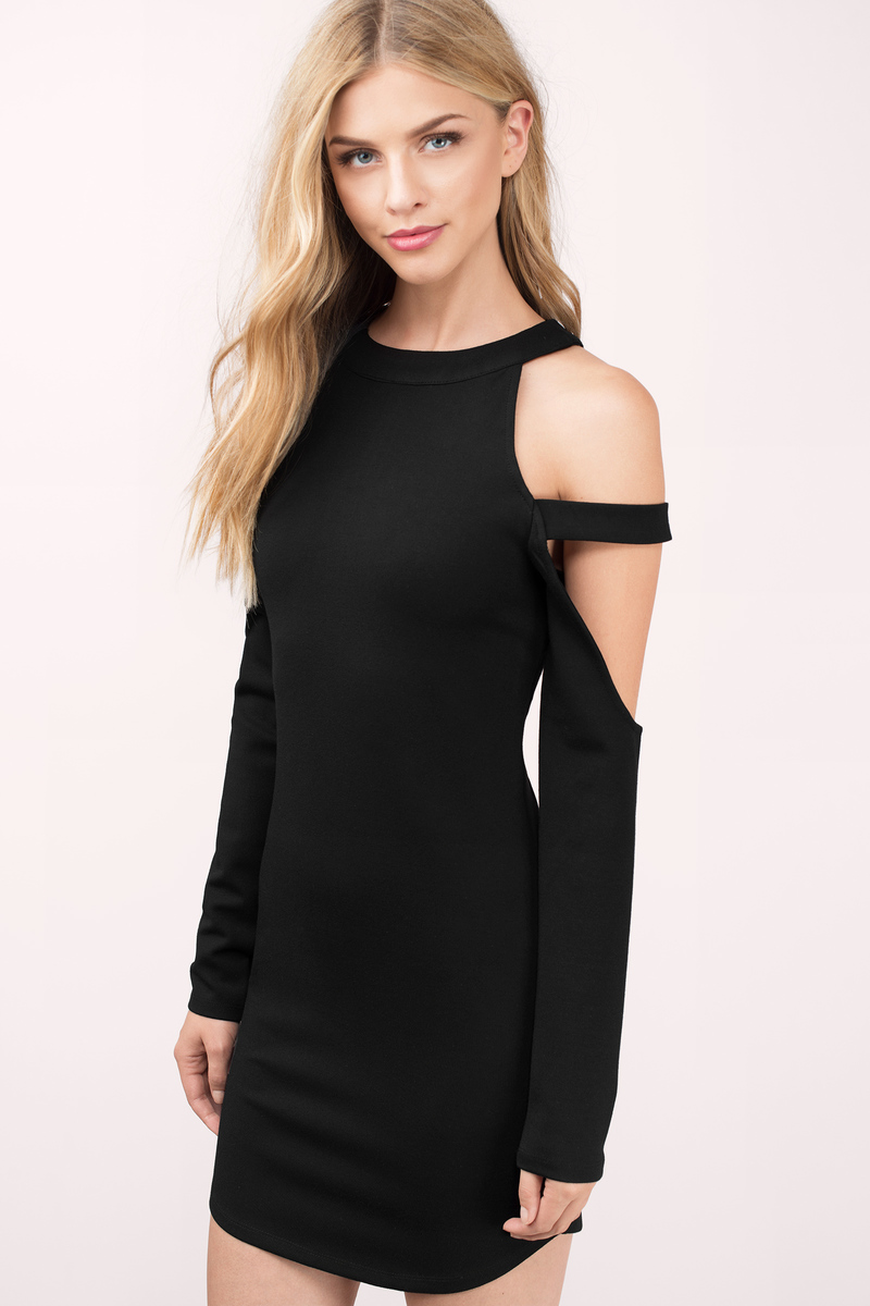 Elle Olive Bodycon Dress