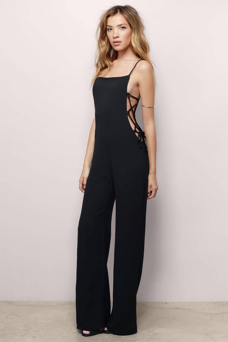Estella Black Jumpsuit