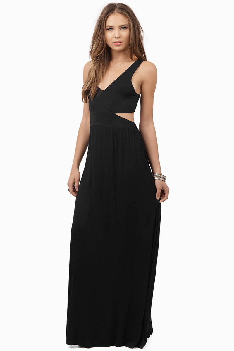 Esther Side Slit Maxi Dress