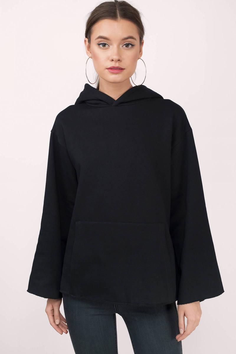 NYTT Nytt Fallen Hoodie Black Sweatshirt
