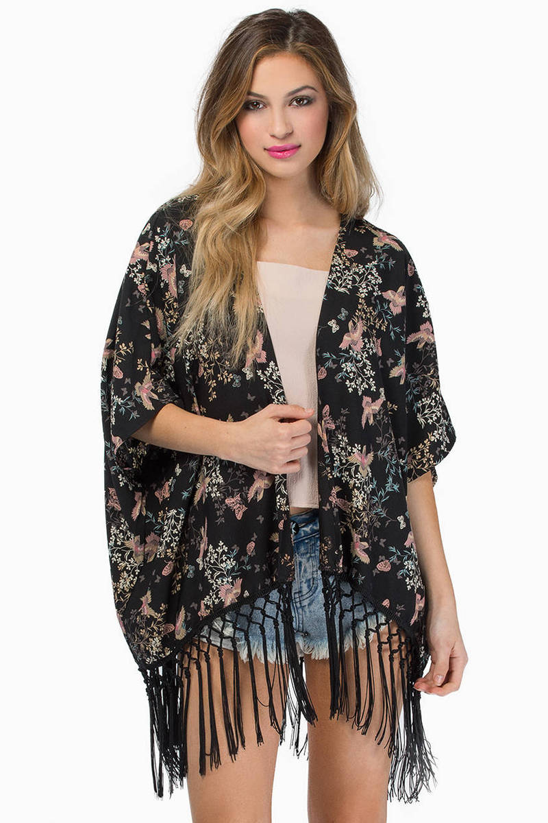 Bay Blossom Kimono