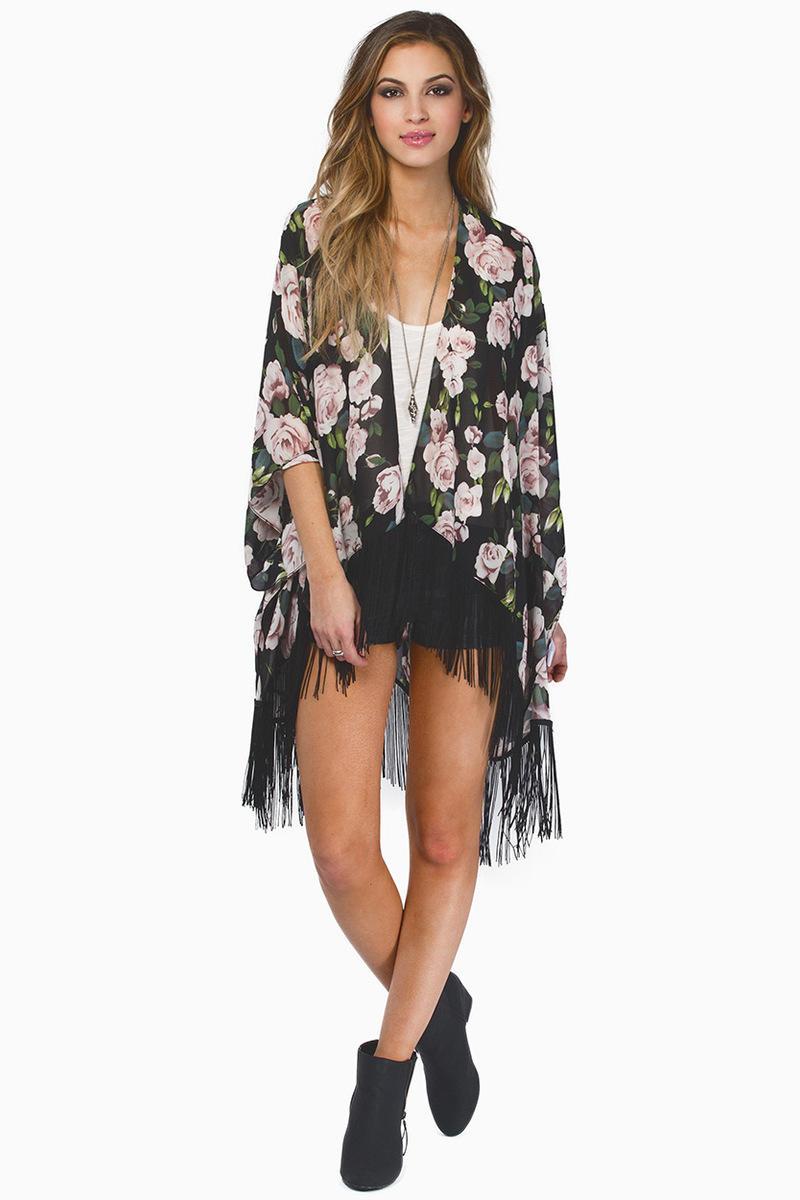 Dark Romance Kimono