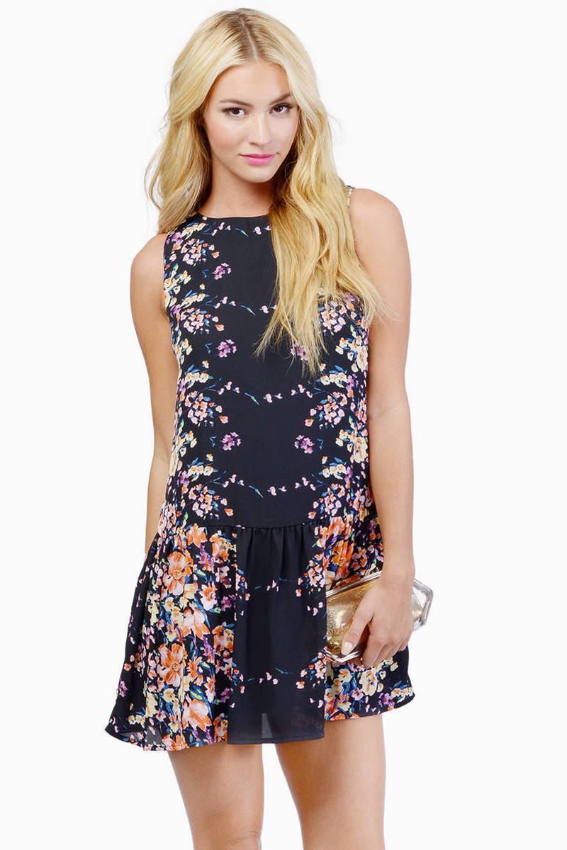 Drop Dead Flower Bed Dress
