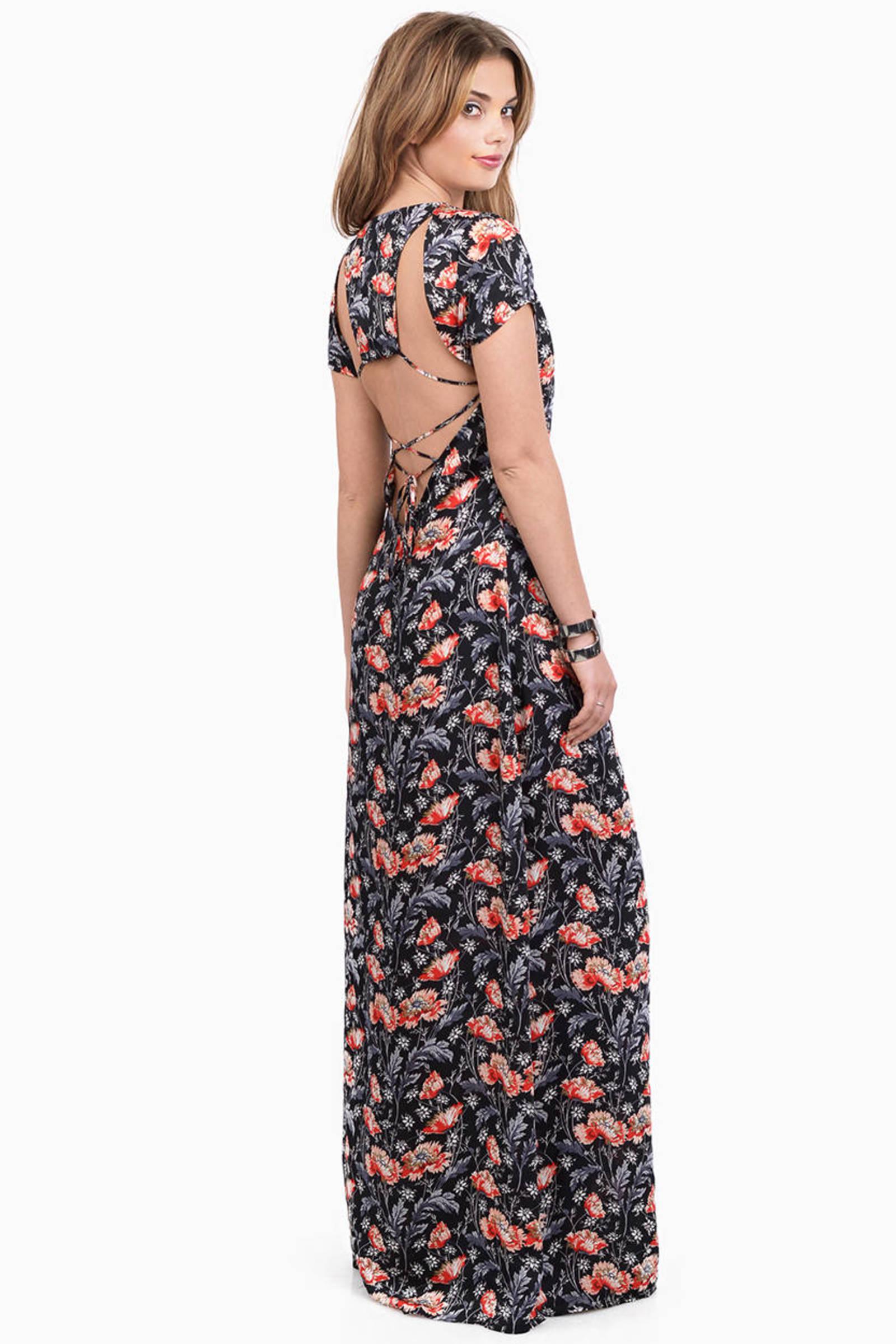 Natural Wonders Maxi Dress   Tobi