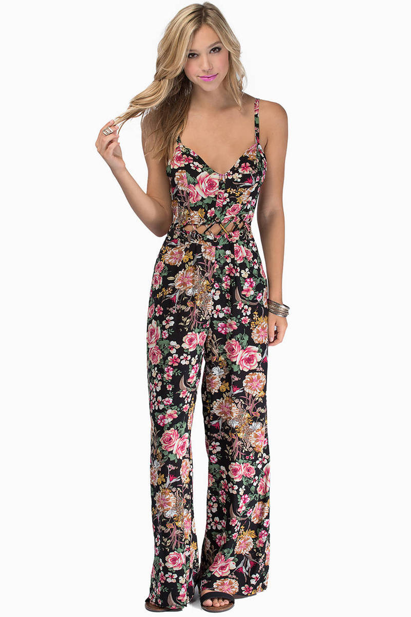 Showing Heart Jumpsuit