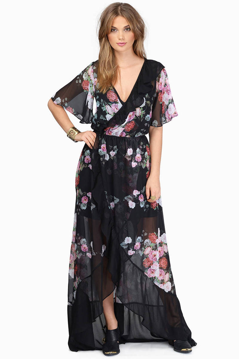 Summer Waves Maxi Dress