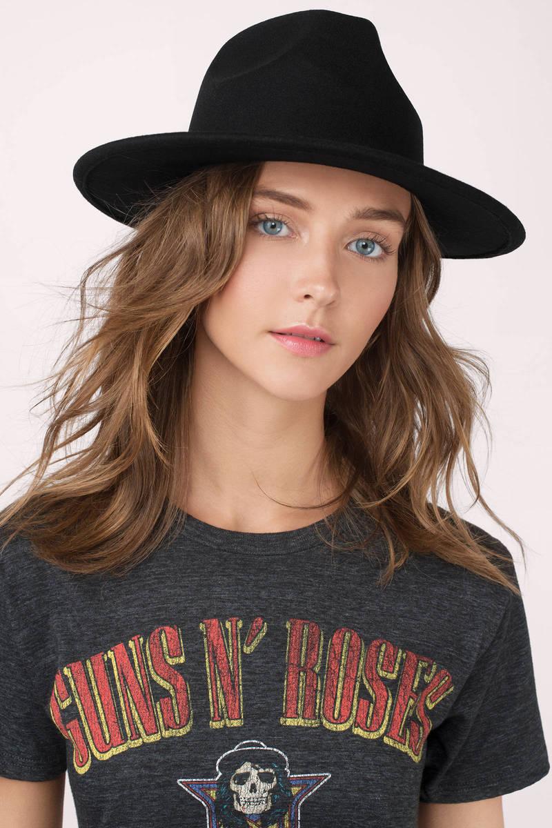 Free Fall Black Panama Hat - € 13  72b9d13d5b52