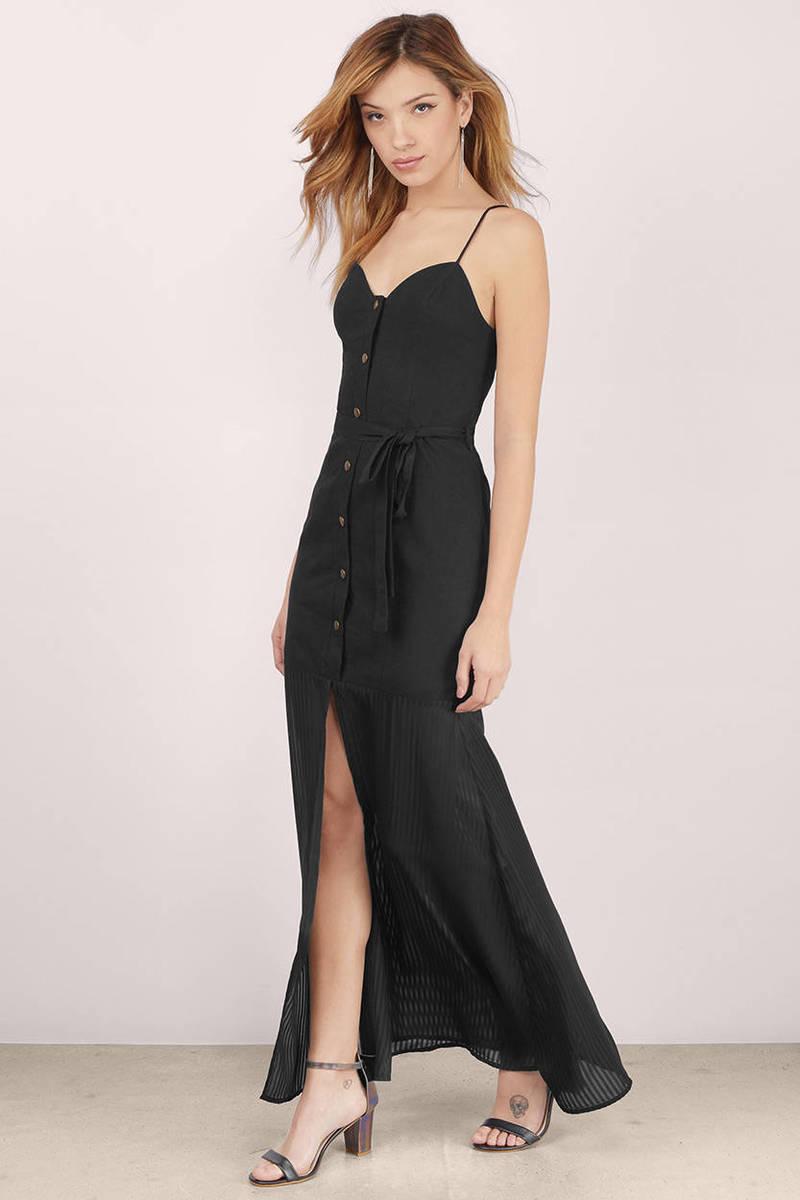 Stevie May Stevie May Giesel Black Maxi Dress