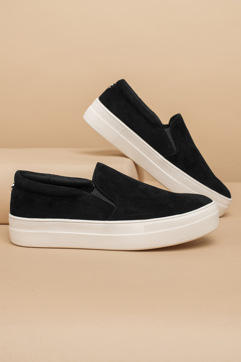 fb98d03a492 Gills Suede Slip On Sneakers