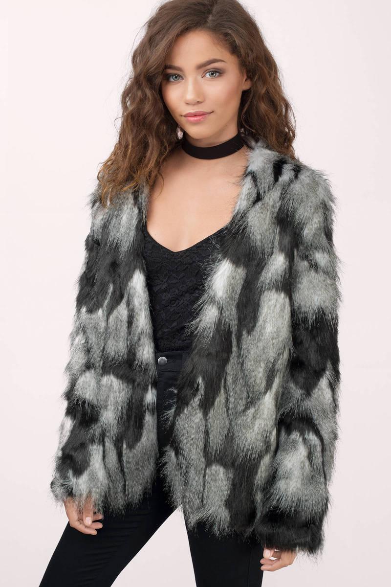 Oh Snow Cozy Faux Fur Coat