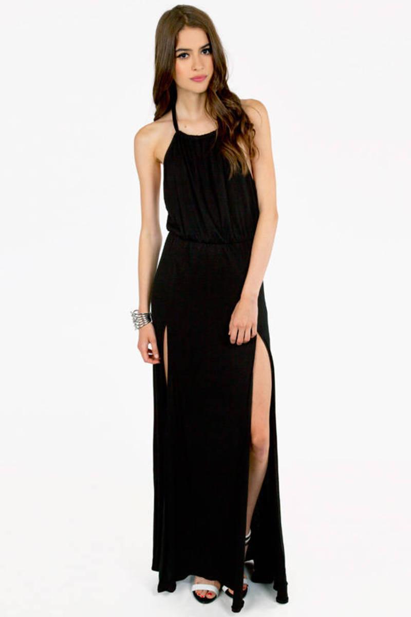 Helen Slit Maxi Dress