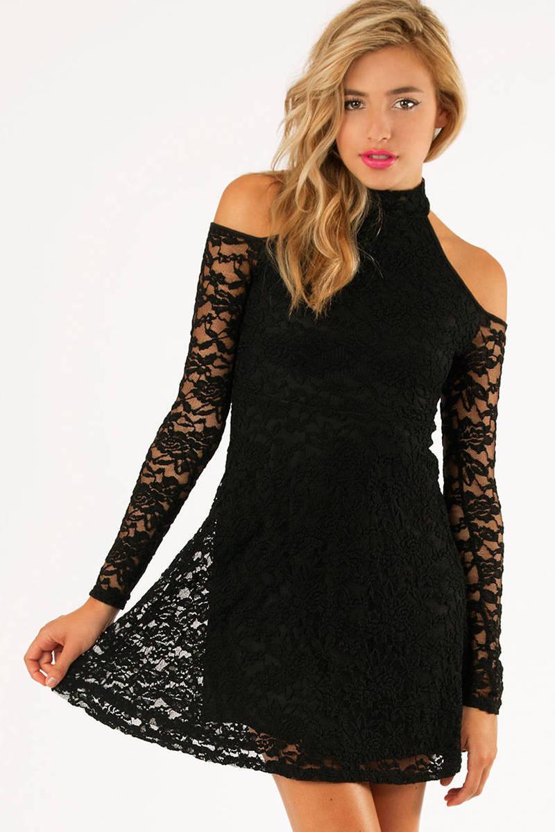 Hidden Friction Lace Dress