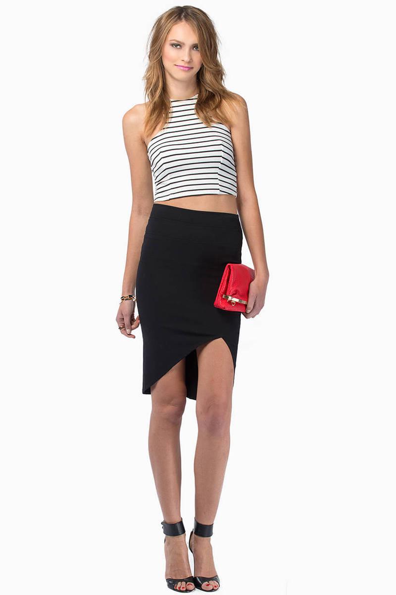 High Altitudes Pencil Skirt