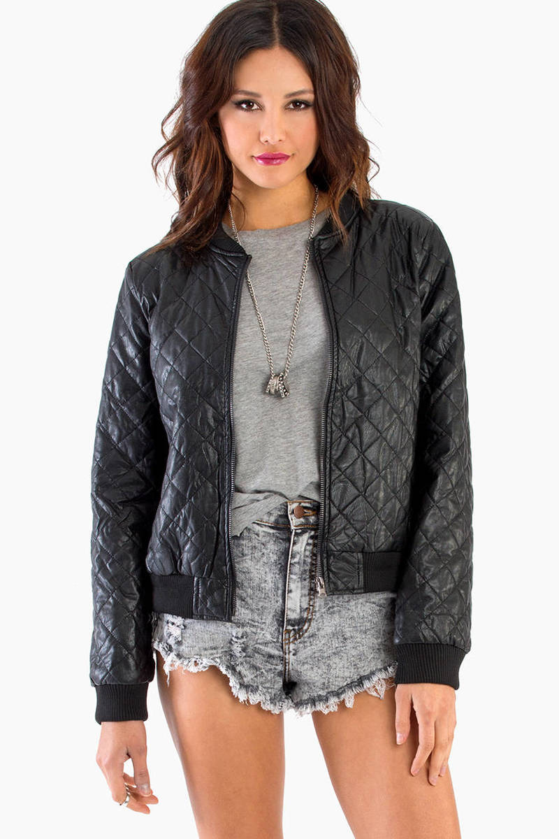 In Stitches Bomber Jacket