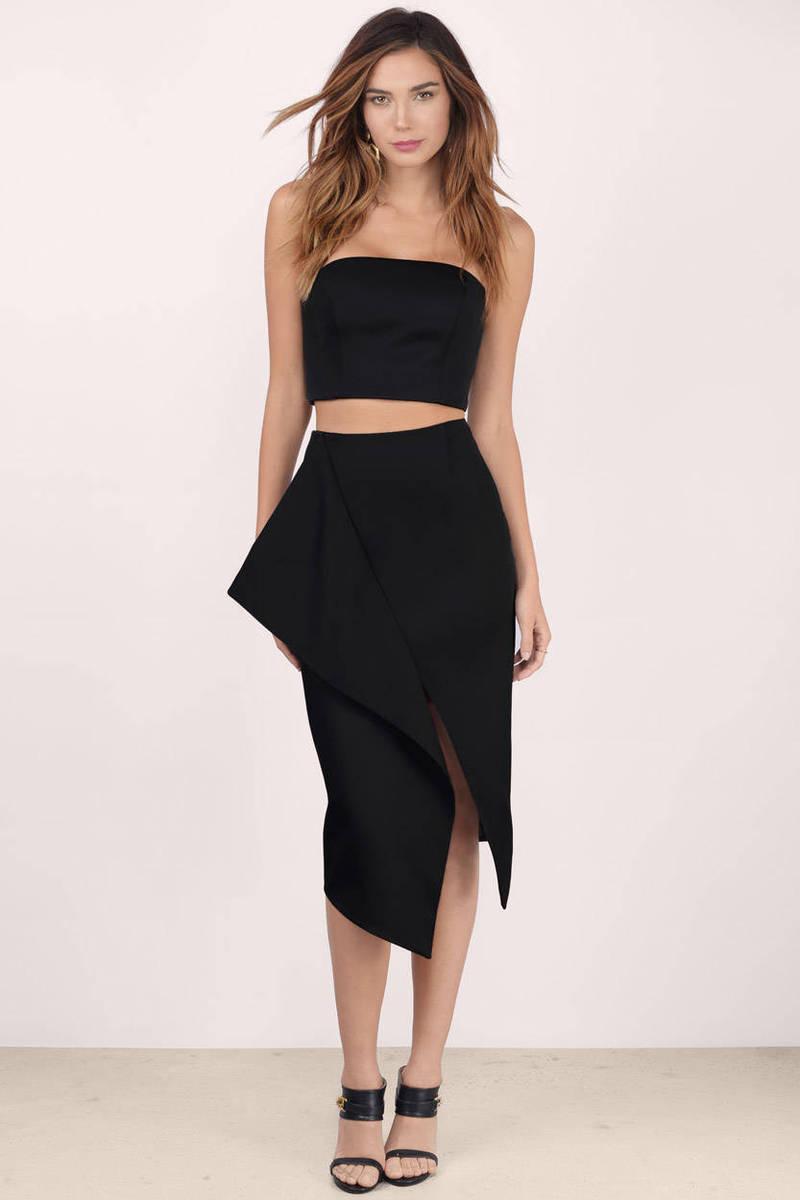 Keepsake Inhibitions Asymmetric Skirt