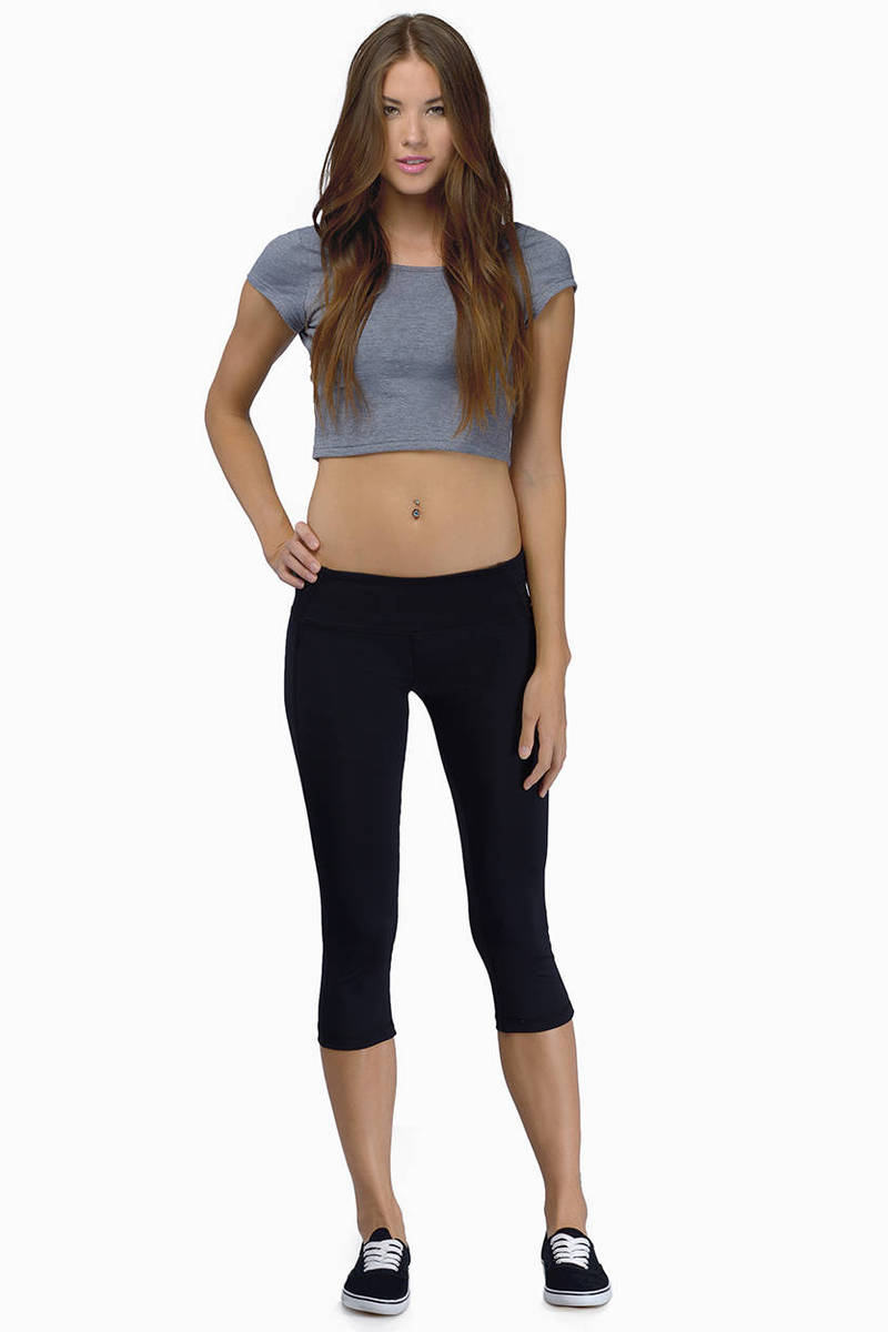Inspired Crop Athletic Pants