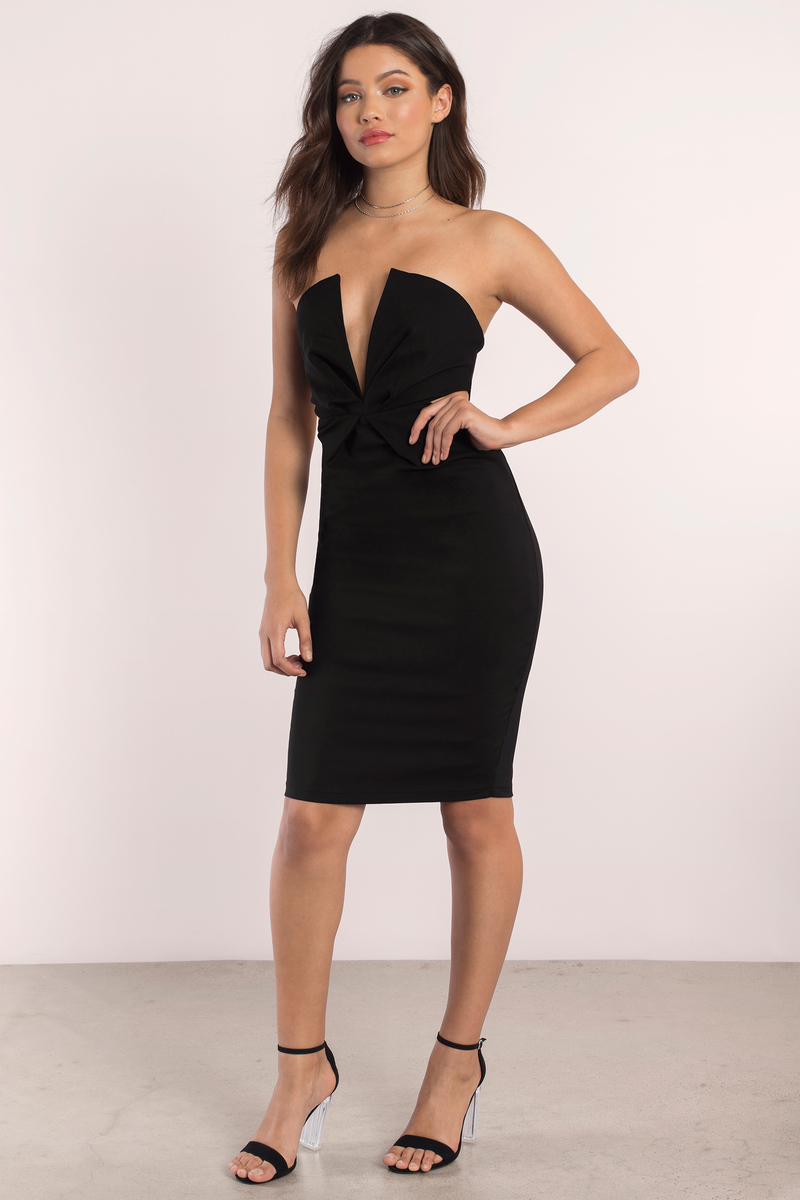Into The Night Blush Bodycon Dress