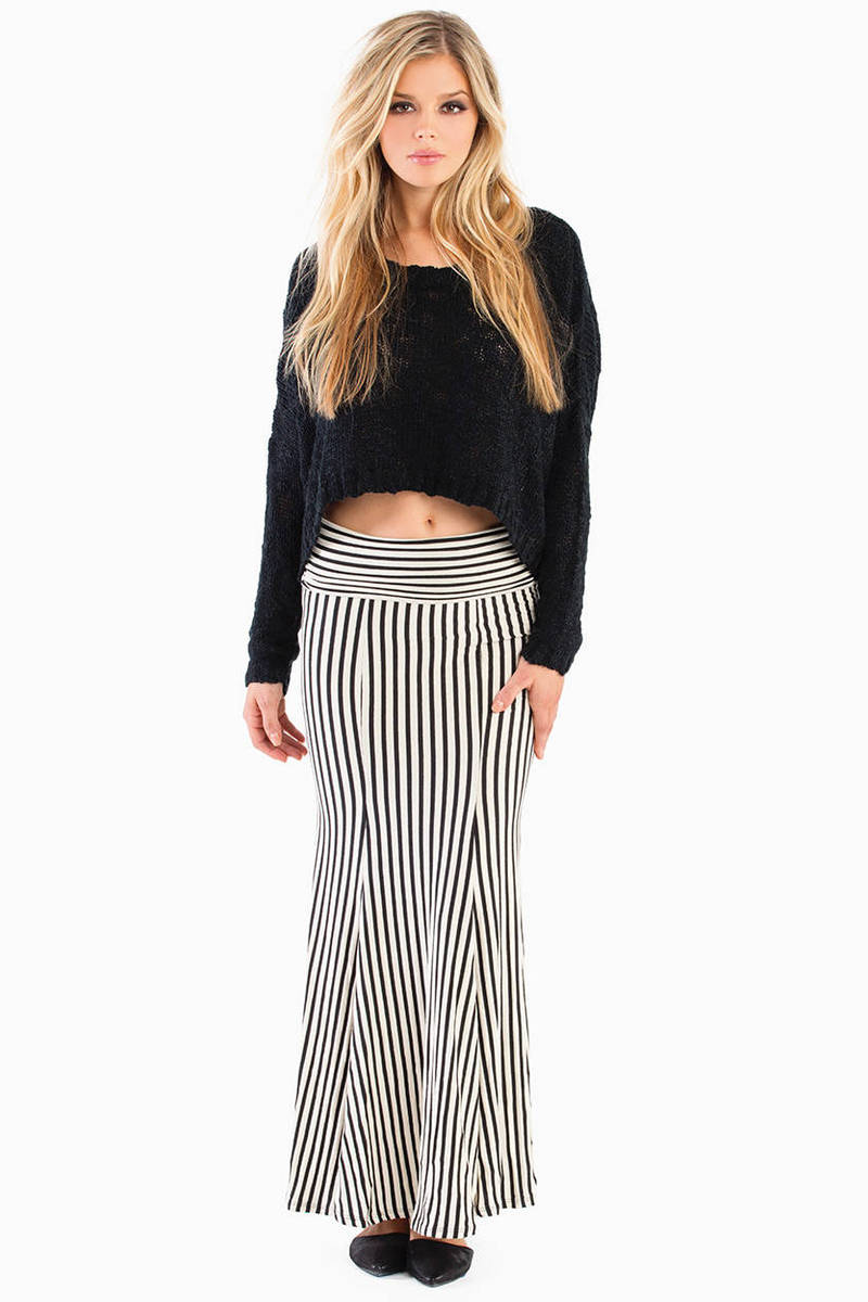 Step Out Of Line Maxi Skirt