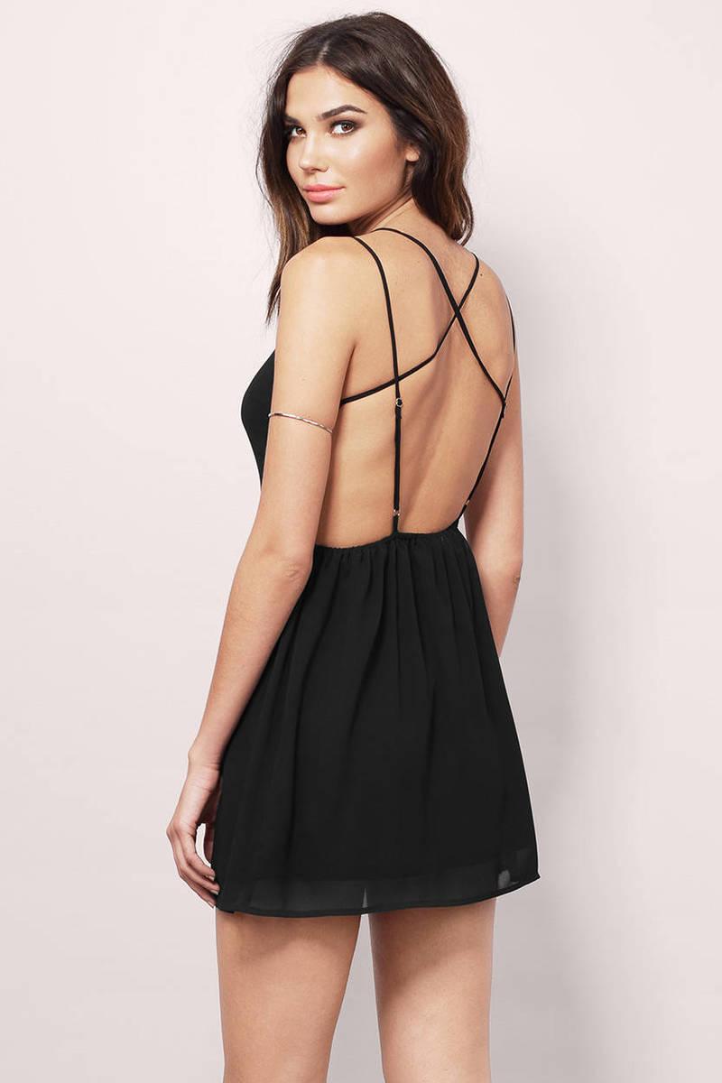 Jaimie Black Shift Dress