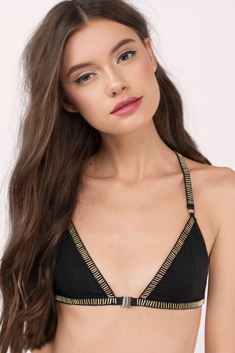 Jennifer Black Bralette