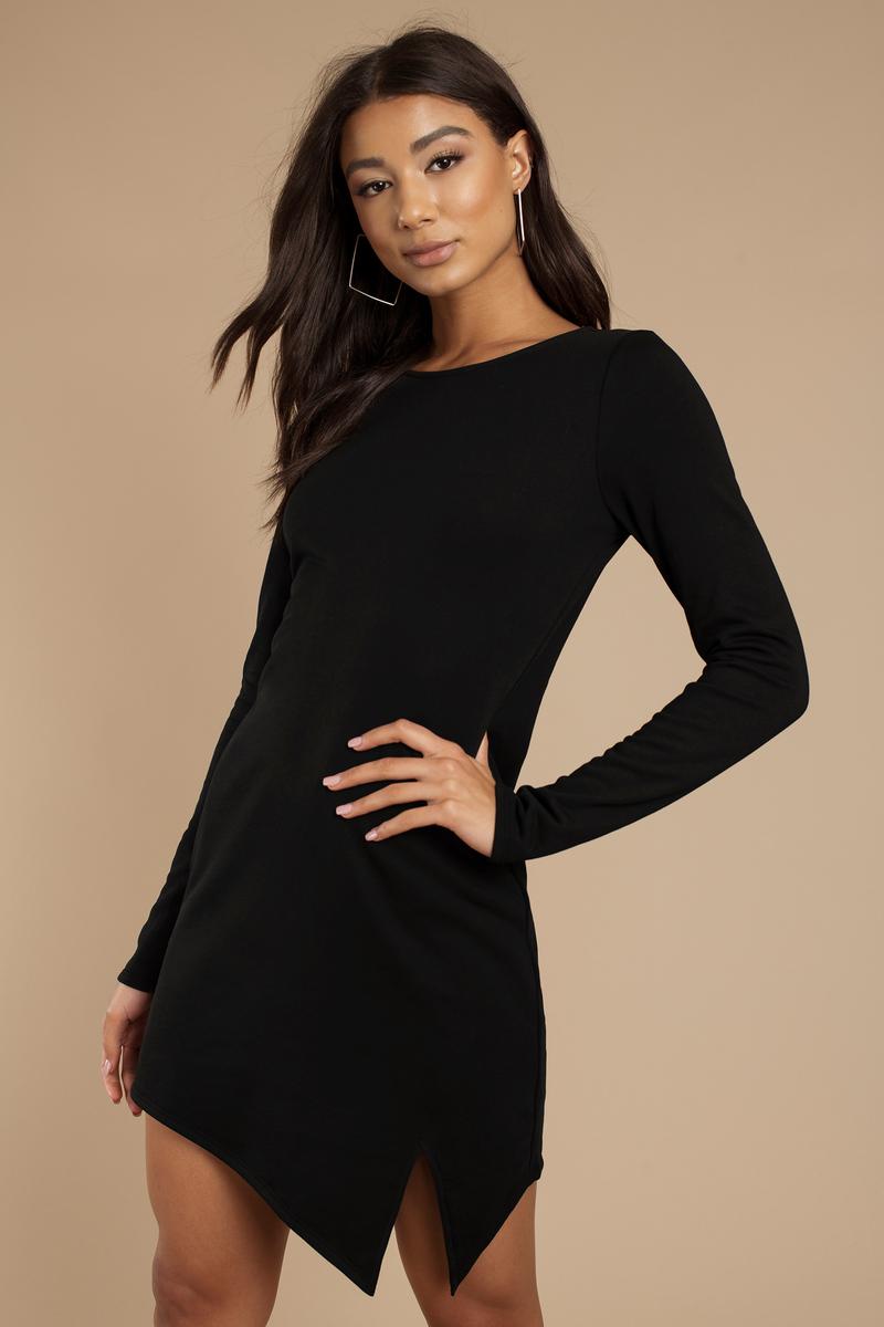 Jeri Black Bodycon Dress