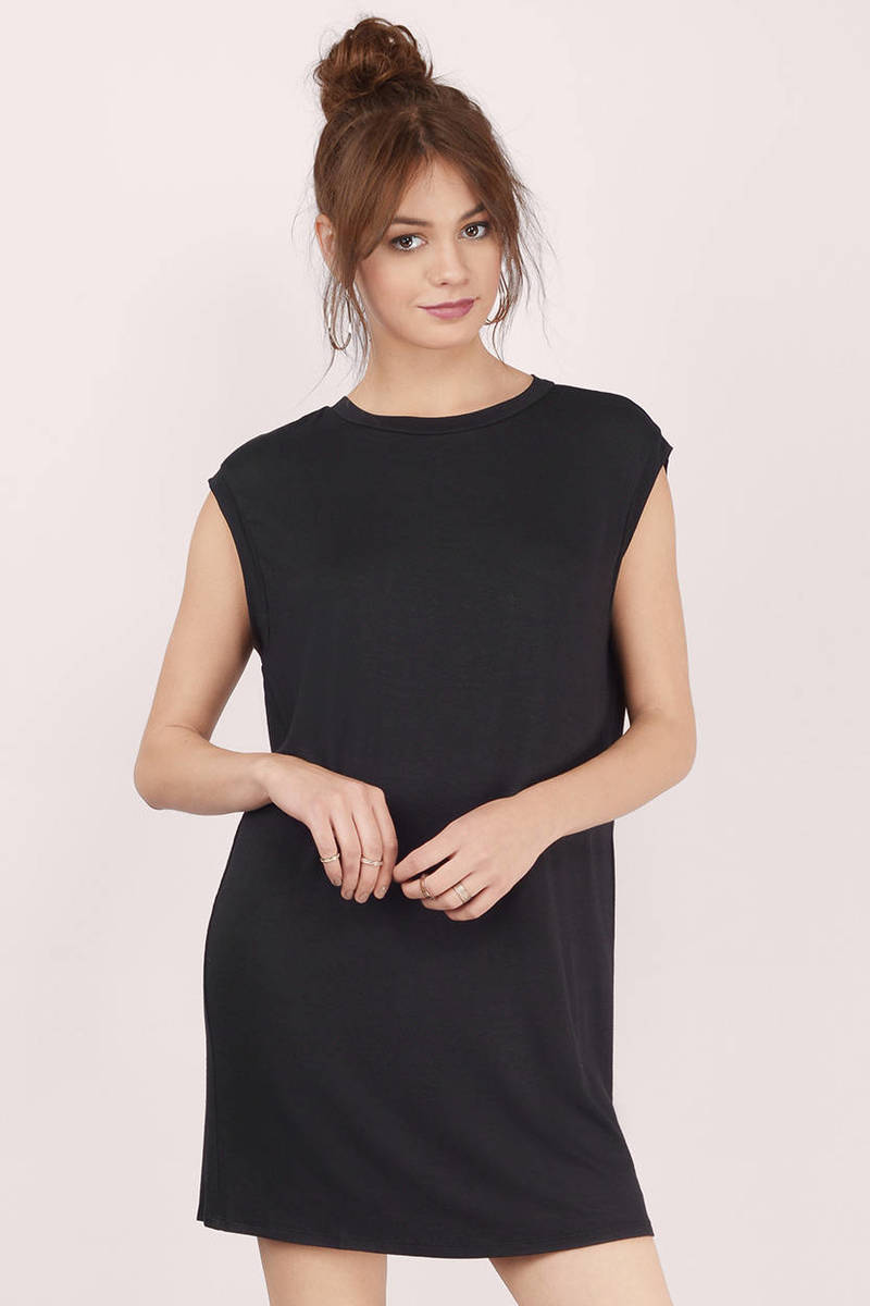 Jody Grey Tunic Dress