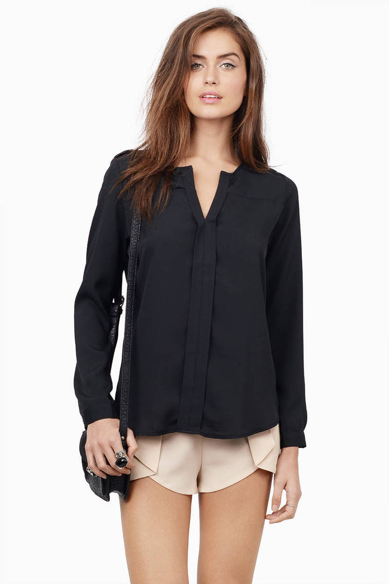 Just Pleatonic Blouse
