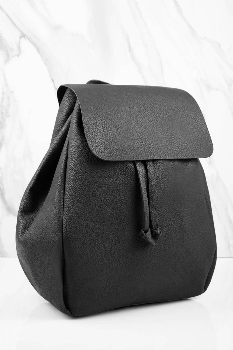 Justine Black Backpack