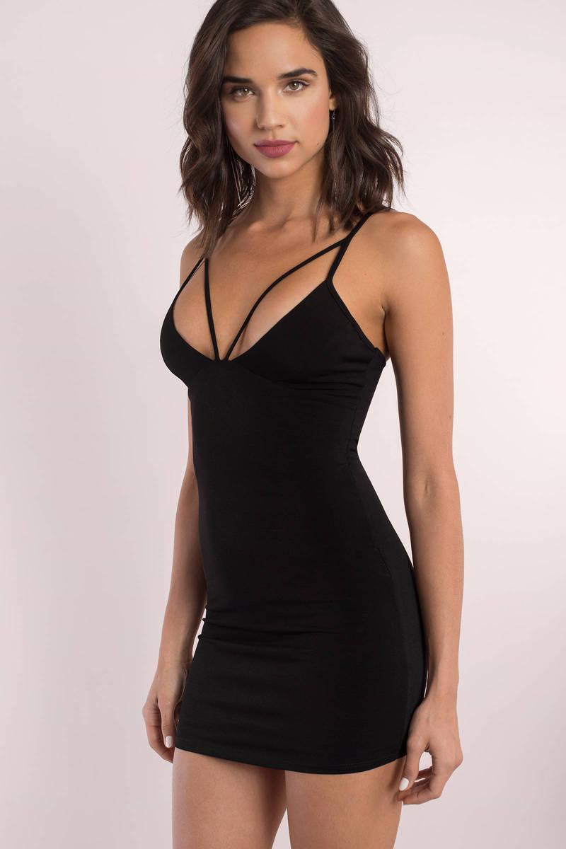 Karlie Mauve Cami Bodycon Dress