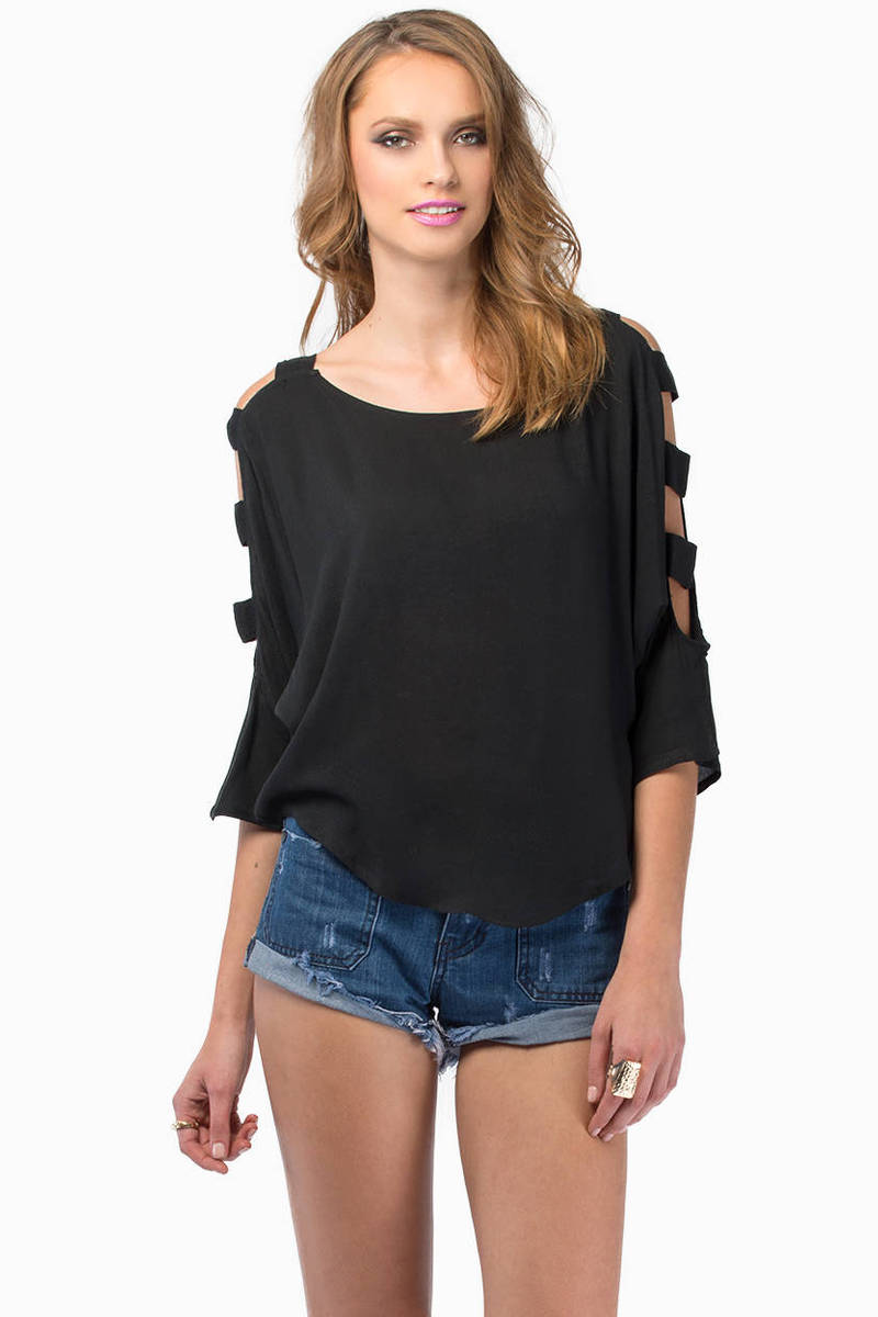 Kaylee Ladder Sleeve Top