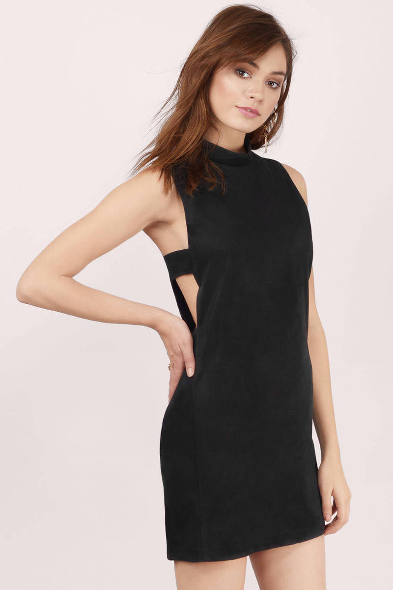Keep It Simple Black Shift Dress