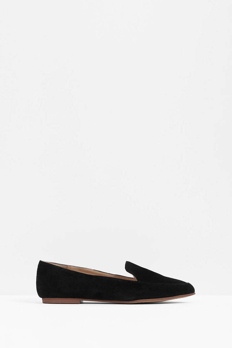 Chinese Laundry Kristin Cavallari Chandy Black Suede Flats