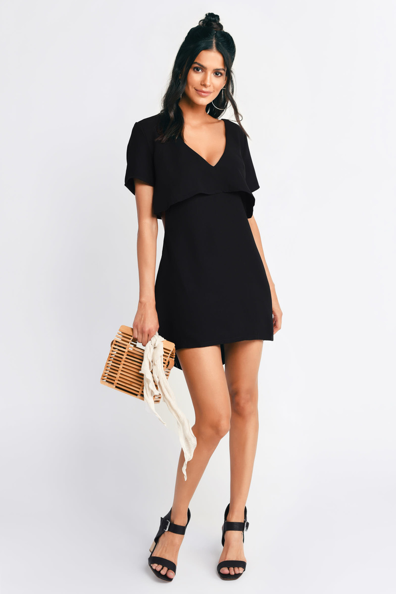 Kya Black Shift Dress