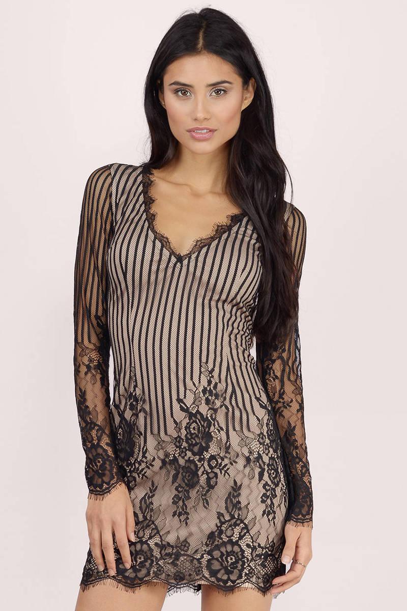 8dd5c4ca0578e Long Sleeve Black Lace Dress Australia