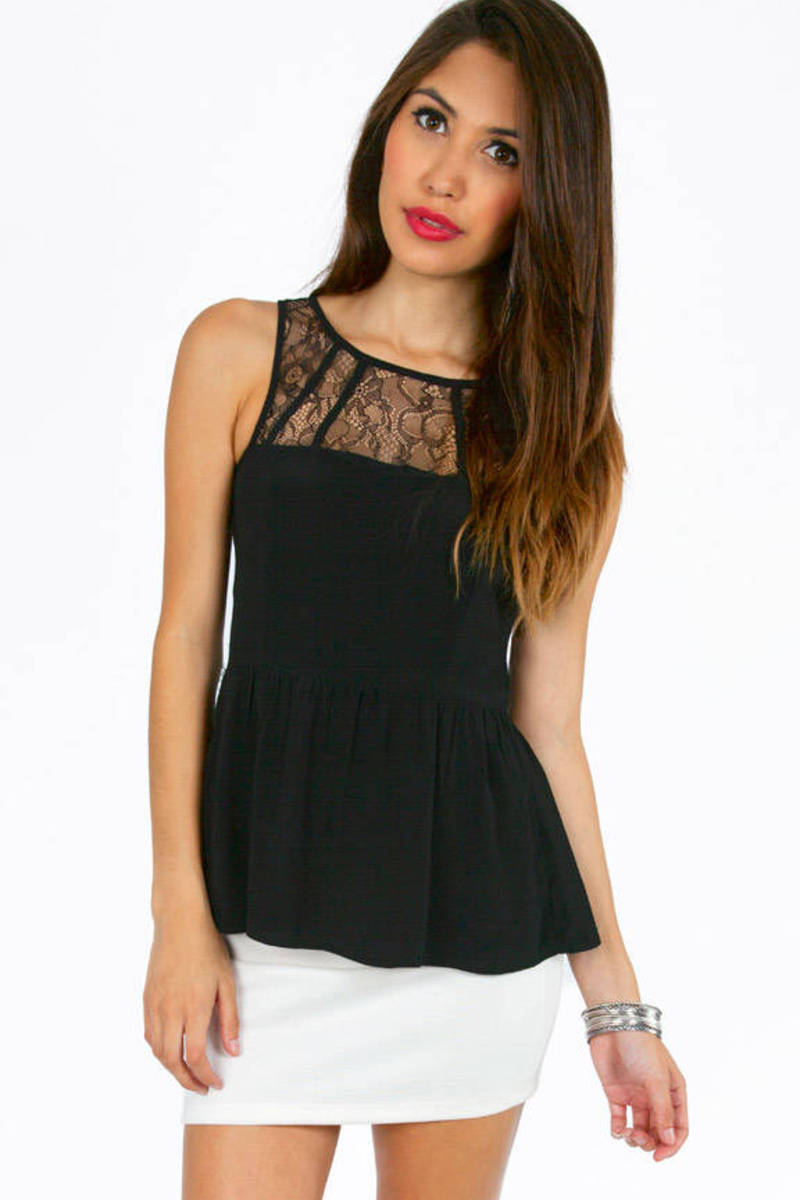 Lacey Macy Sleeveless Top