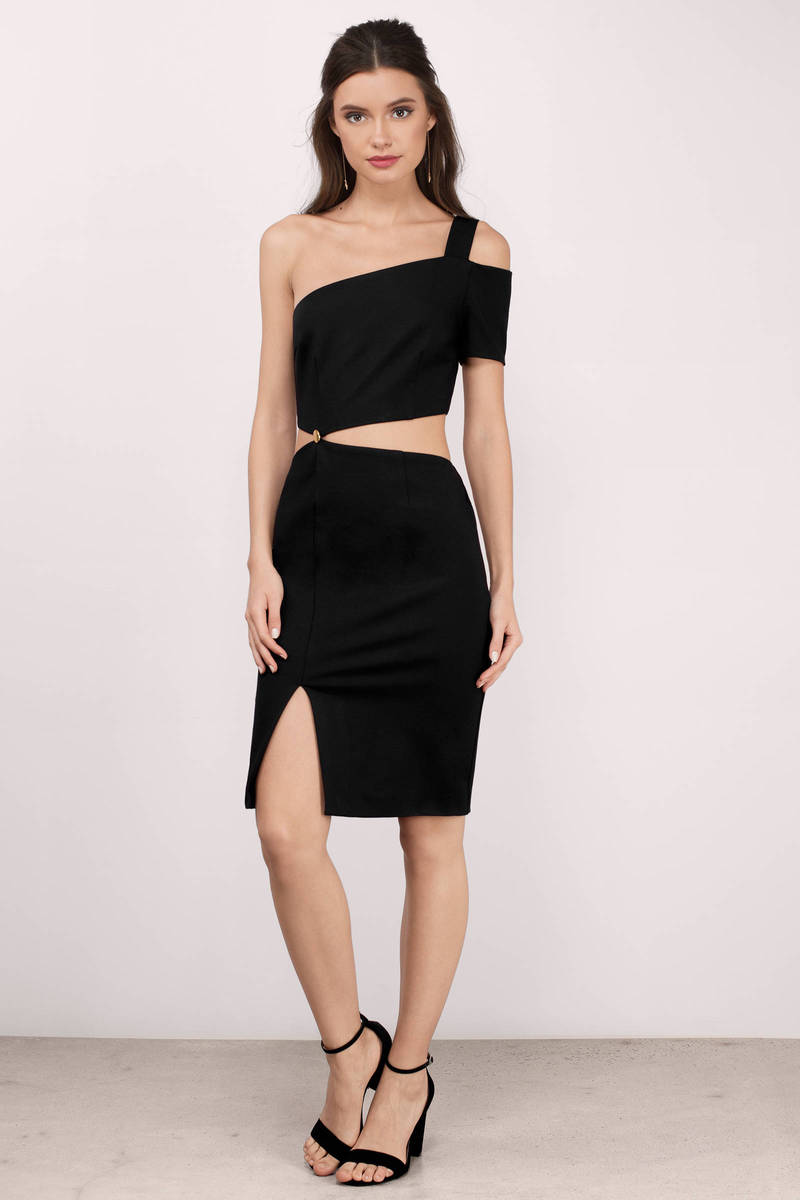 Finders Keepers Finders Keepers Latrobe Black Bodycon Dress