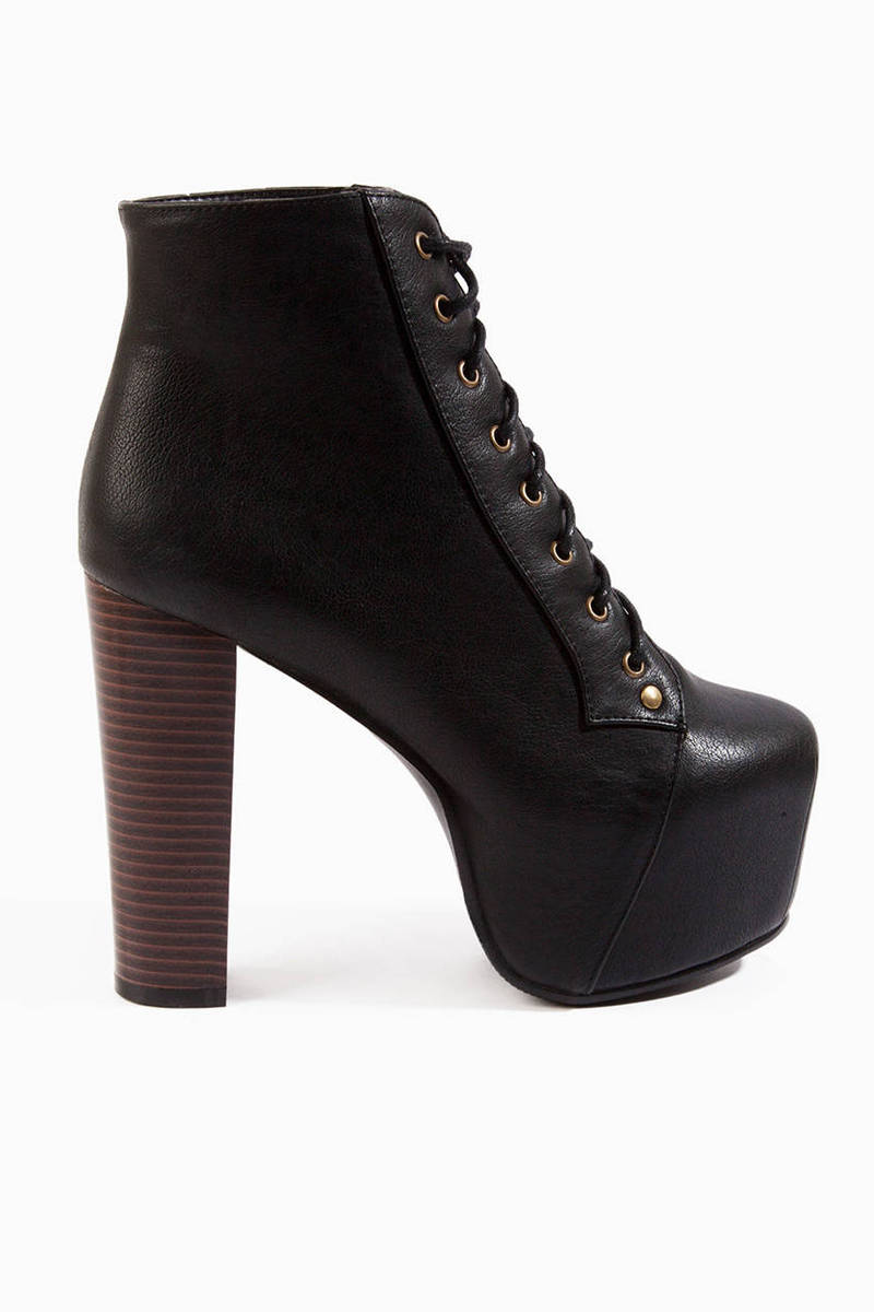 Lexa Lace Up Platform Boots