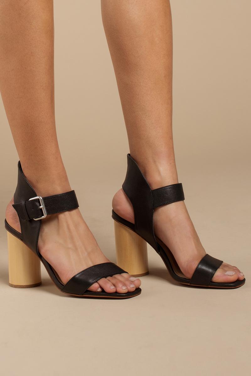 Chinese Laundry Chinese Laundry Locator Black Ankle Strap Heels By Kristin Cavallari