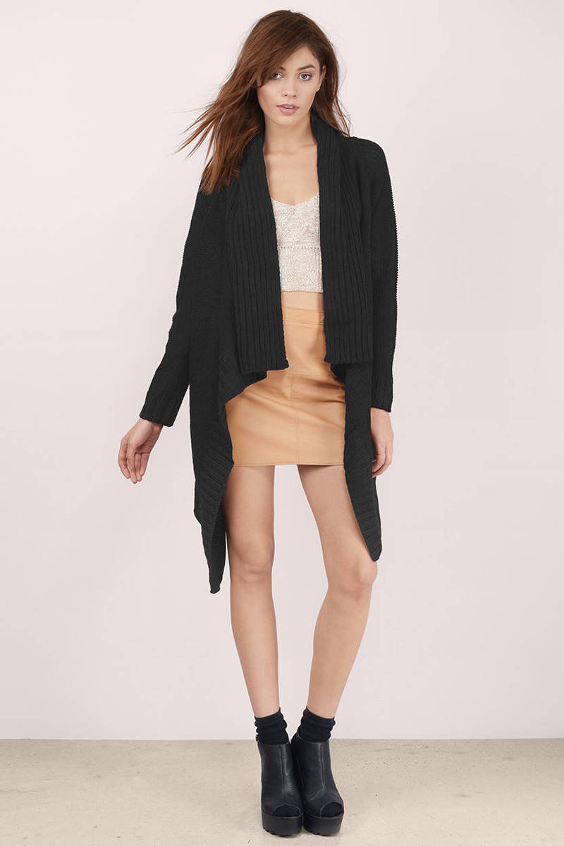 Lovely Cassandra Black Cardigan