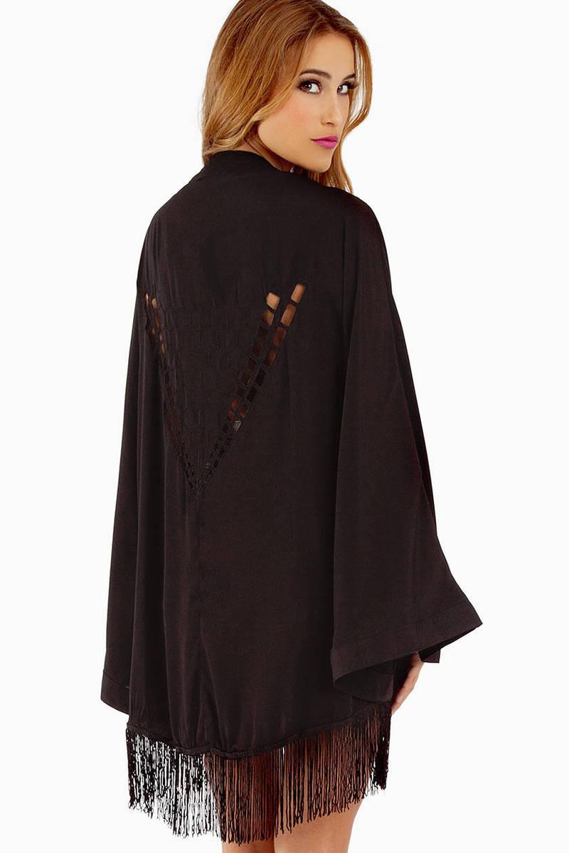 Reverse Luxe Kimono