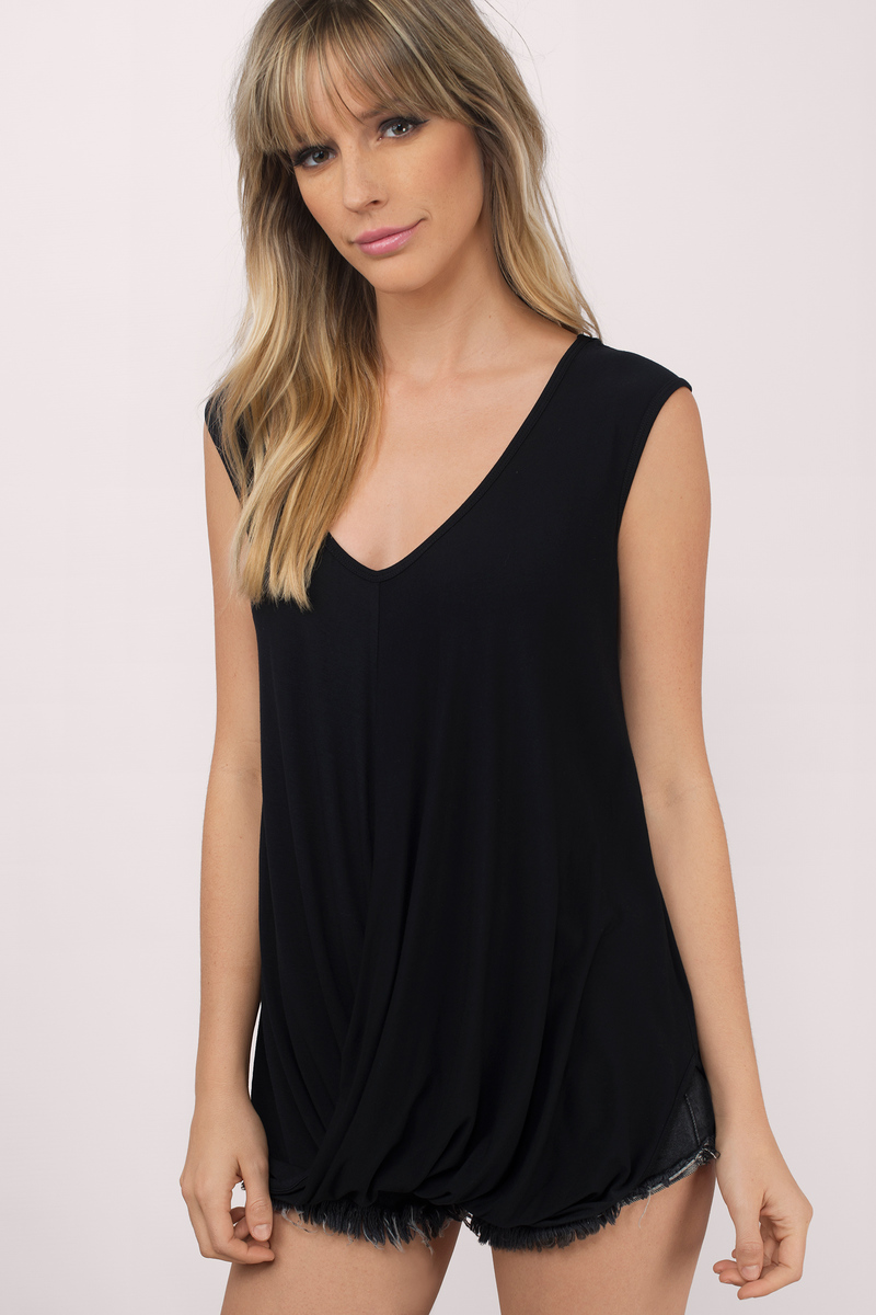 Lydia Scoop Neck Top