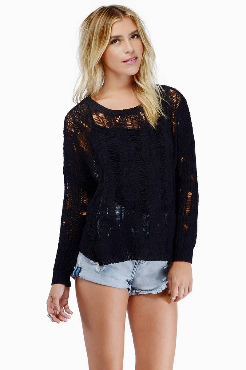 Lynnette Black Sweater