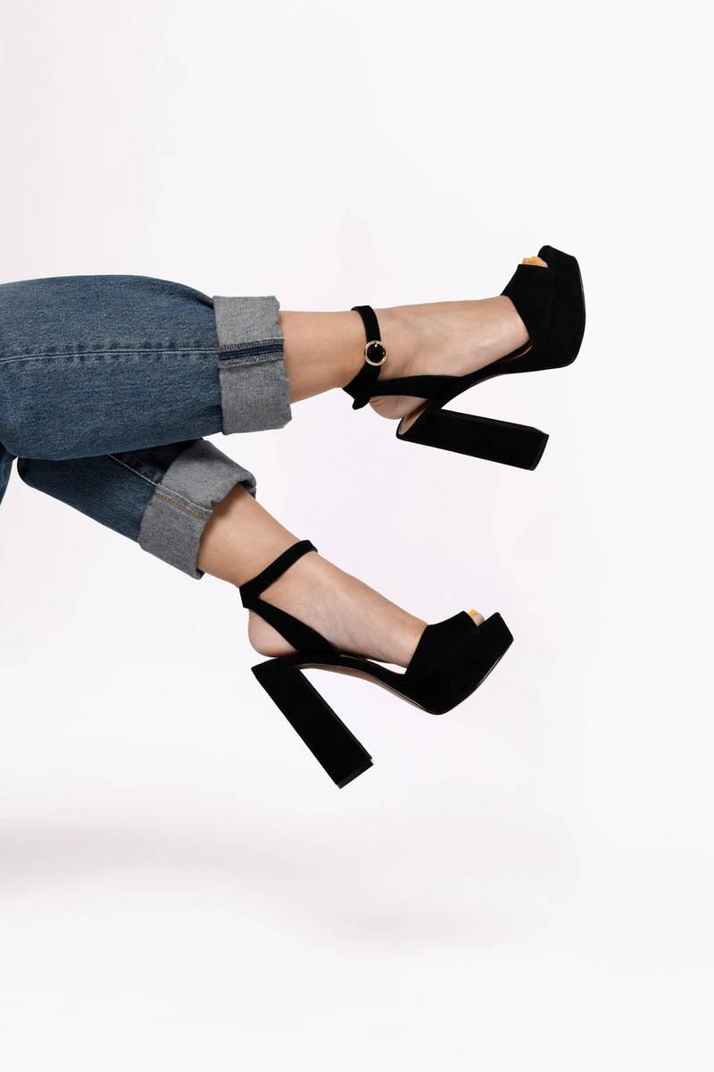 Madeline Ankle Strap Heels