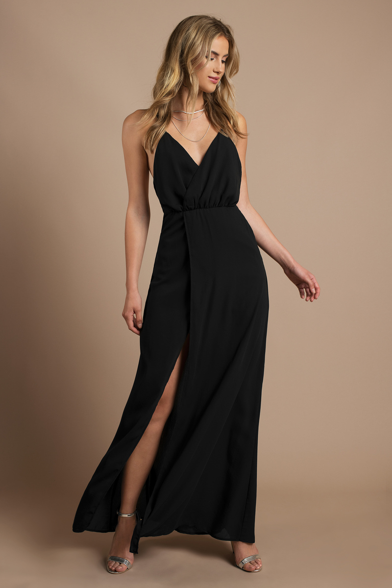 Madi Black Maxi Dress