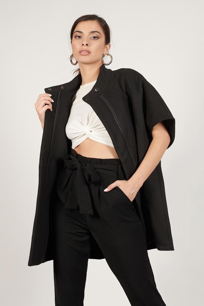 Madison Black Coat