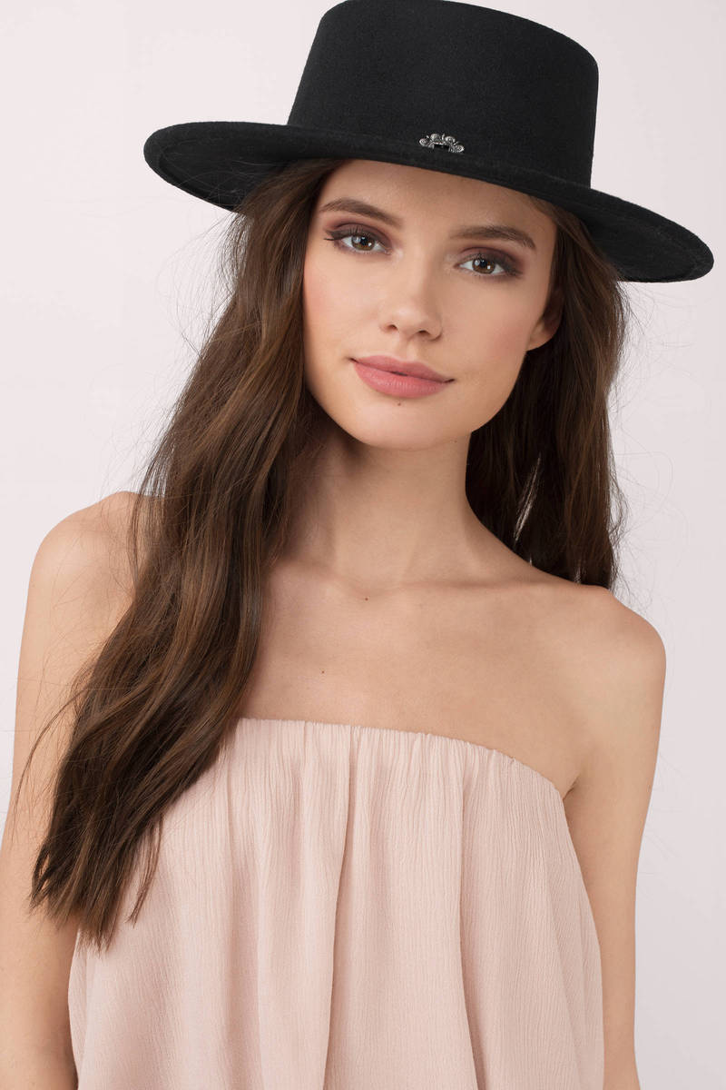 Meet Me In The Sky Black Panama Hat